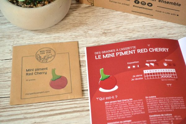 Mini piment Red Cherry by Mon Petit Coin Vert
