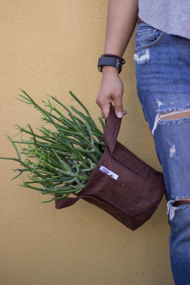 Pot root pouch